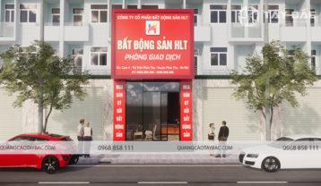 Phối cảnh mặt tiền bất động sản HLT