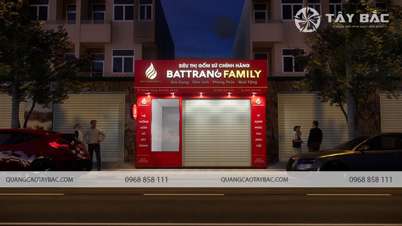 Biển quảng cáo cửa hàng gốm sứ