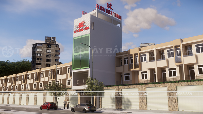 Biển quảng cáo ảnh viện Elisa Bích Thuận