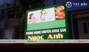Biển quảng cáo phòng khám Ngọc Anh
