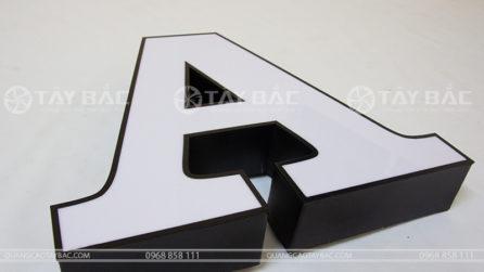 Mẫu chữ nổi quảng cáo FMF-01