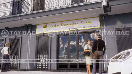 Biển quảng cáo spa beaty Jade