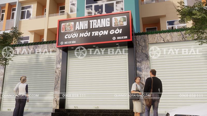 Biển hiệu dịch vụ cưới hỏi Anh Trang
