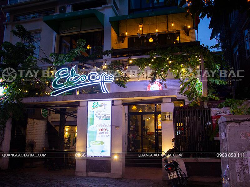 Biển quảng cáo Eco coffee