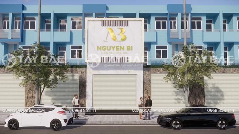 Biển quảng cáo hair salon Nguyễn Boi