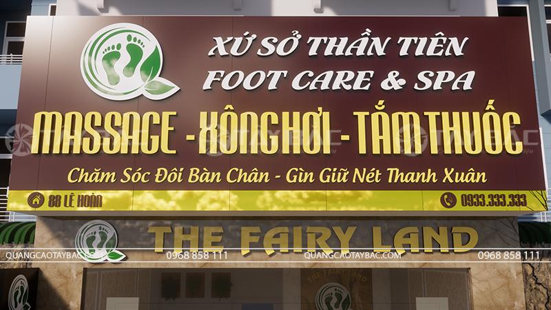 Biển quảng cáo massage Fairy Land