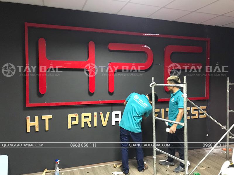 Thi công biển quảng cáo Fitness HPF