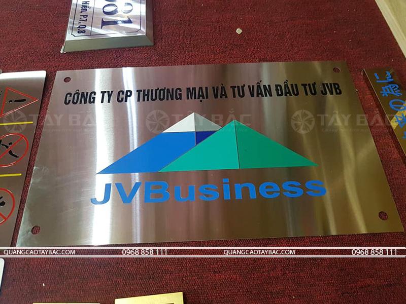 Biển công ty JVB