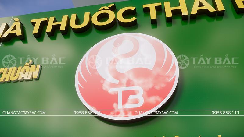 Phần logo biển nhà thuốc thái bình