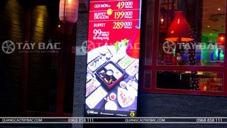 Biển quảng cáo hộp đèn nhà hàng HuTong