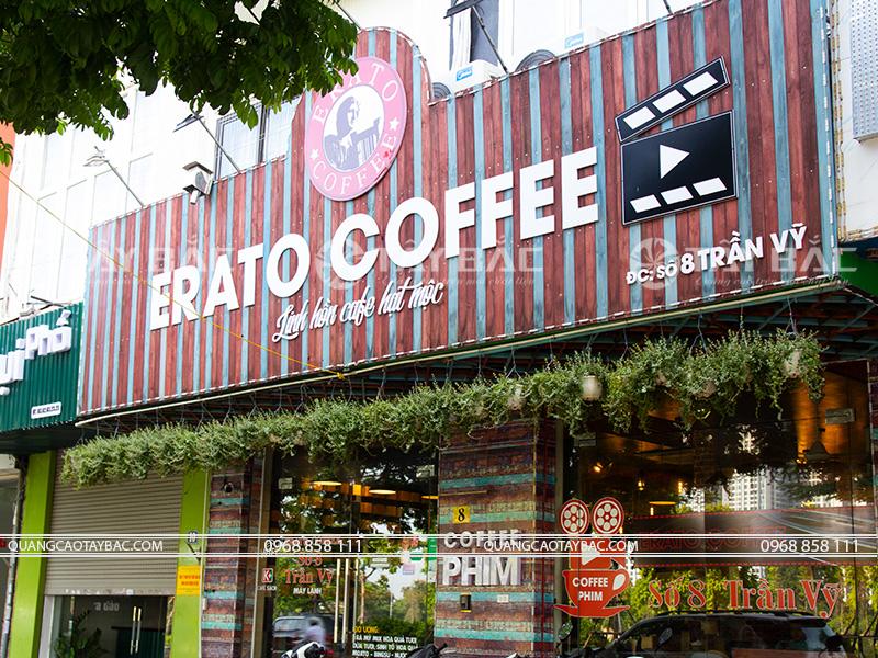 Biển quảng cáo cafe Erato