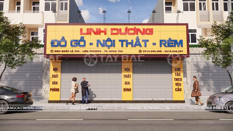 Biển quảng cáo đồ gỗ Linh Dương