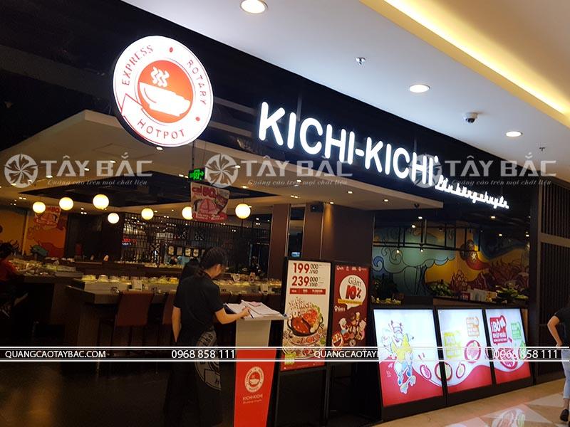 Biển quảng cáo nhà hàng Kichi