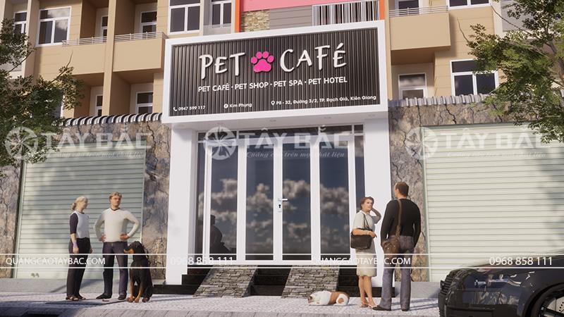 Biển quảng cáo Pet Cafe