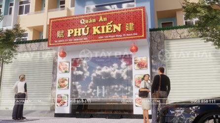 Biển quảng cáo quán ăn Phú Kiến