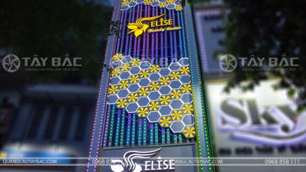 Biển quảng cáo thẫm mỹ viện Elisa