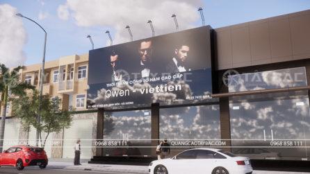 Biển quảng cáo shop thời trang Owen