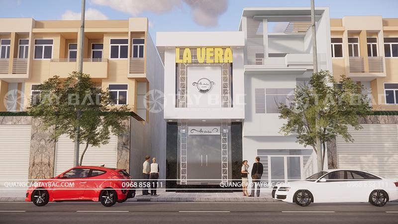 Biển quảng cáo shop quần áo Vera