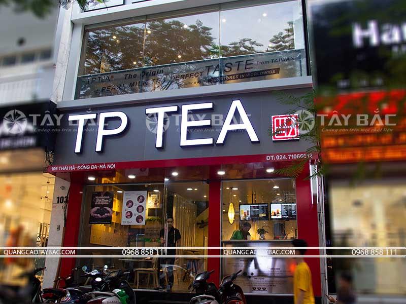 Biển quảng cáo trà Sữa Tp
