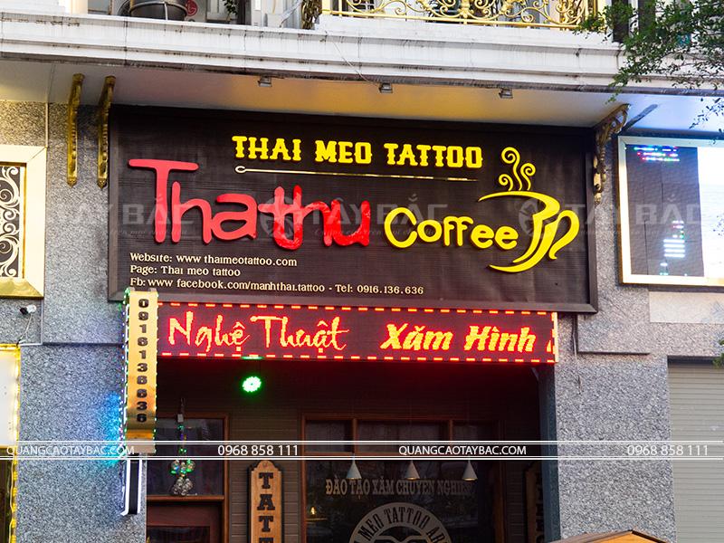 Biển quảng cáo xăm hình nghệ thuật Thái Tatoo