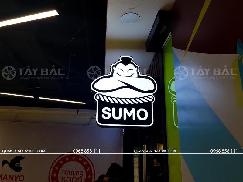 Biển vẫy nhà hàng nướng Sumo