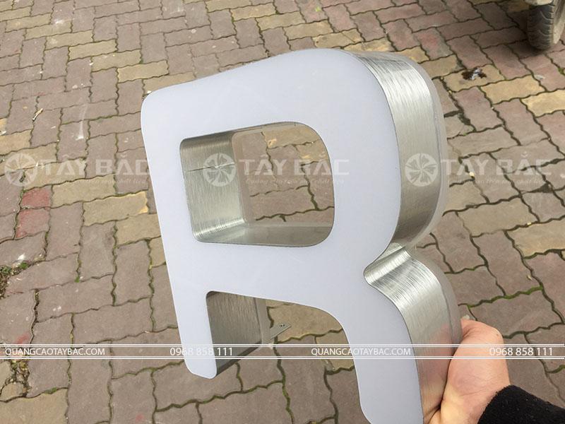 Mẫu chữ quảng cáo NKM-01