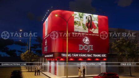 Bảng hiệu tiệm vàng Doji
