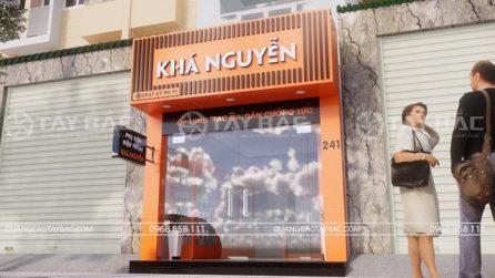 Biển quảng cáo phụ kiện điện thoại Khá Nguyễn