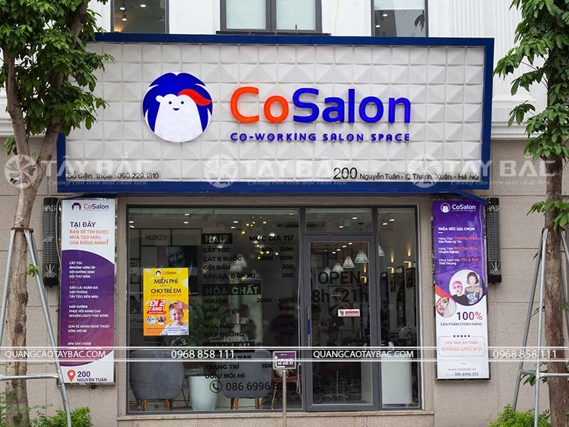 Biển quảng cáo salon tóc Cosalon