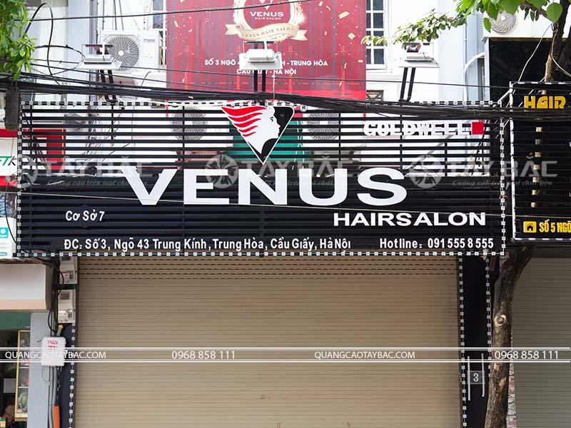 Biển quảng cáo salon tóc Venus