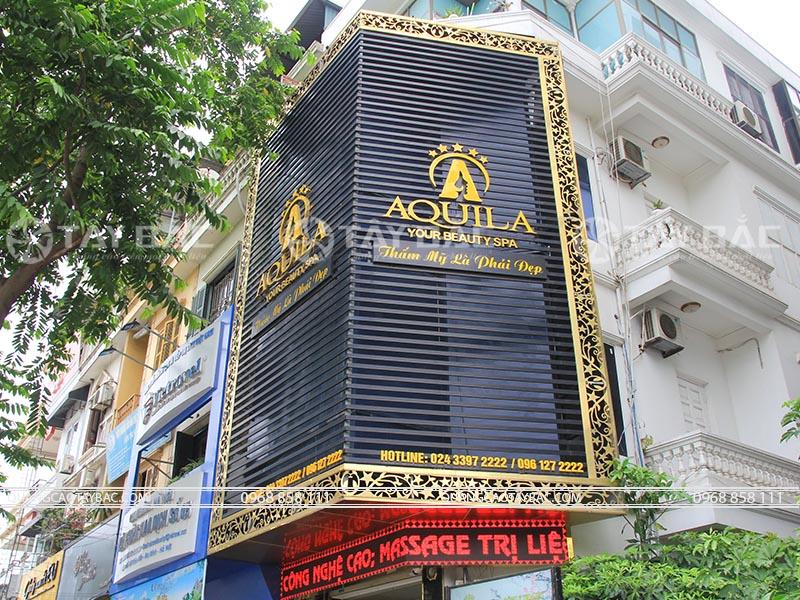 Biển quảng cáo spa Aquila