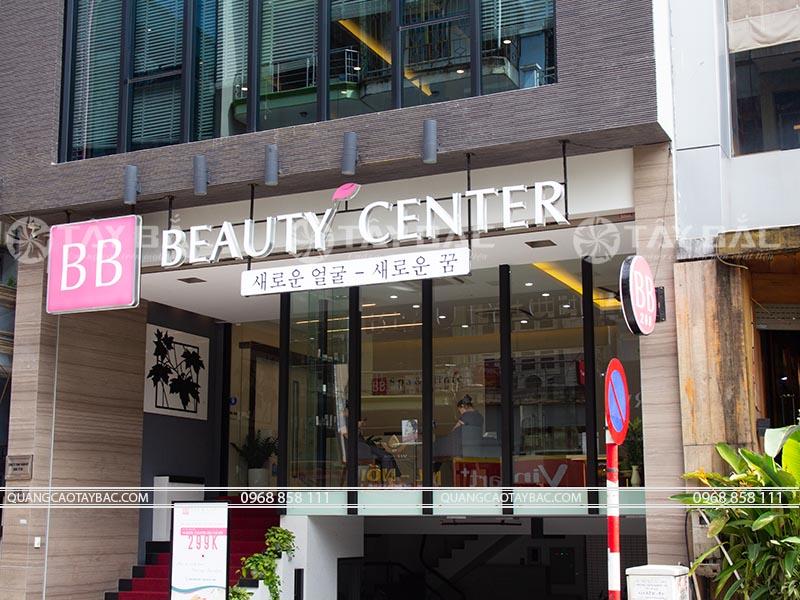 biển quảng cáo spa beaty center
