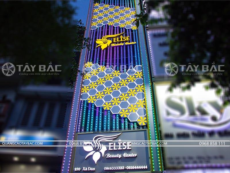biển quảng cáo spa Elisa