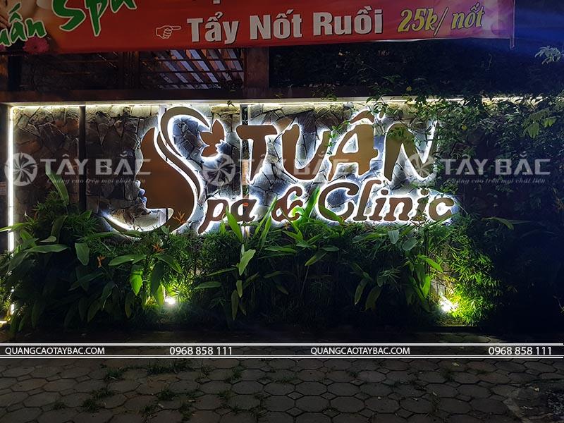 Biển quảng cáo spa Tuấn