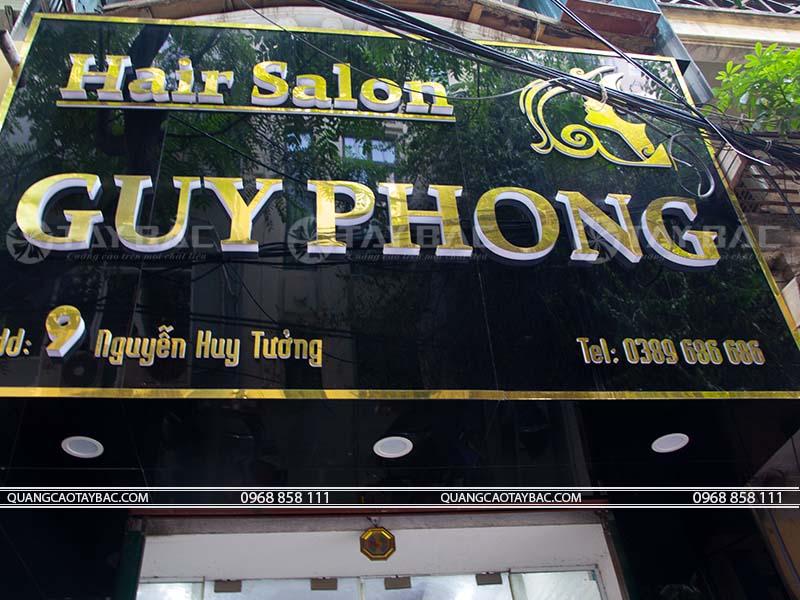 Biển quảng cáo tóc Guy Phong