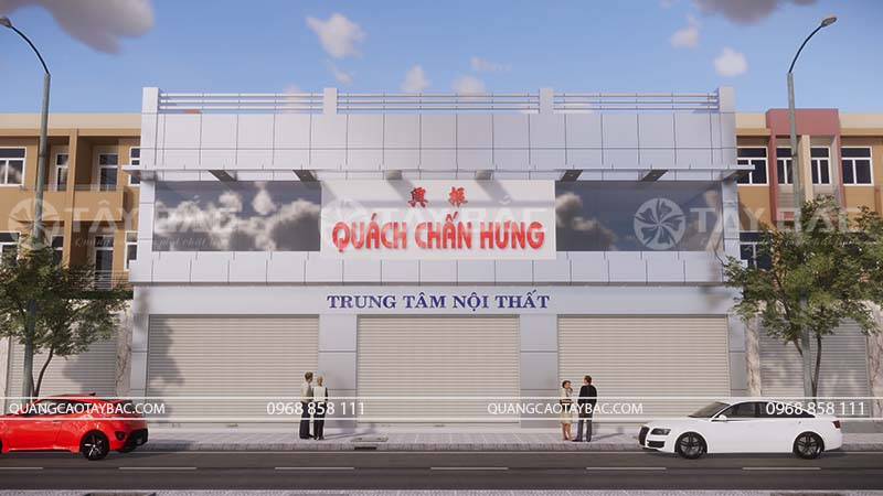 Biển quảng cáo nội thất Chấn Hưng