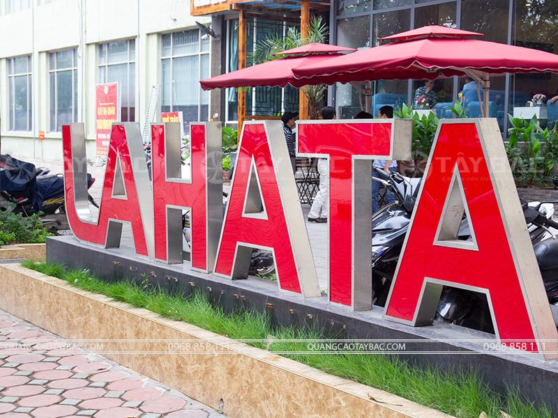 Bộ chữ nhà hàng Lahata