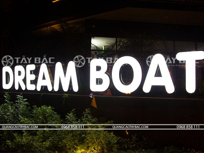 bộ chữ trung tâm tiếng anh Dream Boat