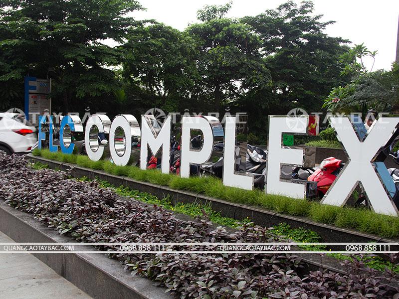 Bộ chữ tòa nhà FLC complex