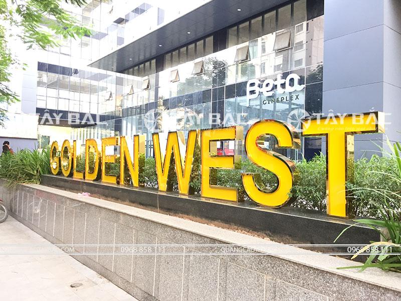 Bộ chữ tòa nhà Golden West