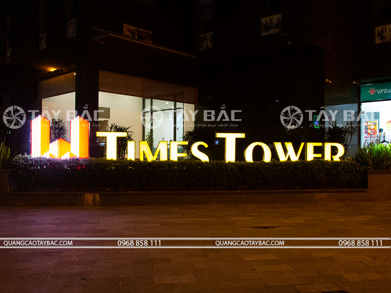 Bộ chữ tòa nhà time tower