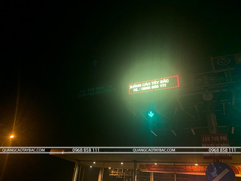 Thi công biển led matrix đường cao tốc