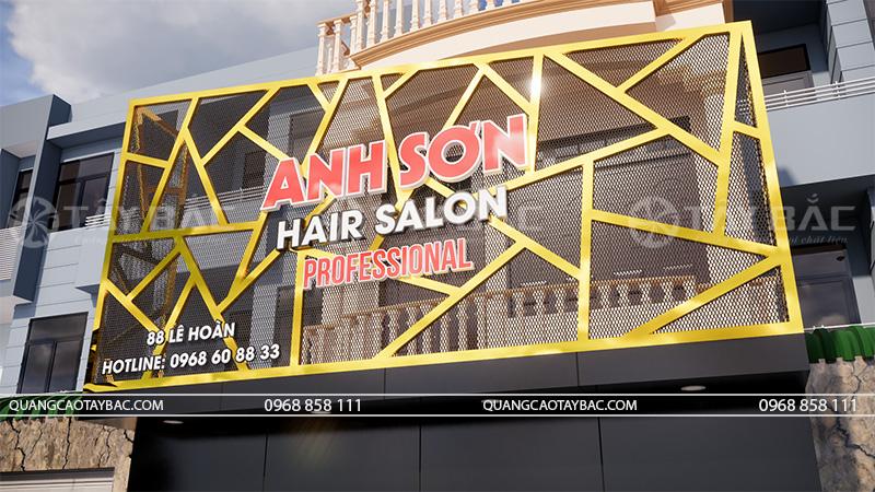 biển quảng cáo hair Anh Sơn