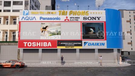 biển quảng cáo siêu thị điện máy Tài Phong