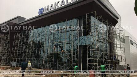thi công biển quảng cáo nhà máy Makalot