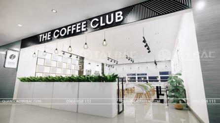 Thiết kế nội thất cửa hàng coffee Club