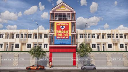 bảng hiệu tiệm vàng Vĩnh Tường Huy