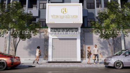 bảng hiệu tiệm vàng hải long