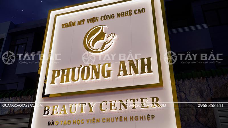 Biển quảng cáo spa Phương Anh