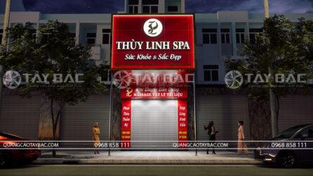 biển quảng cáo spa Thùy Linh